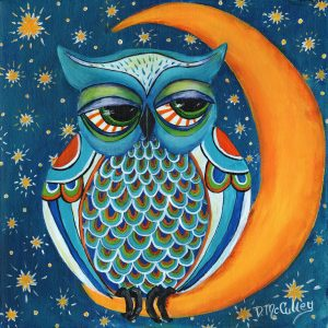Owl_At_the_Moon