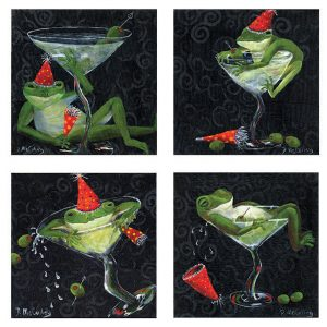 9x9-4martinifrogs3