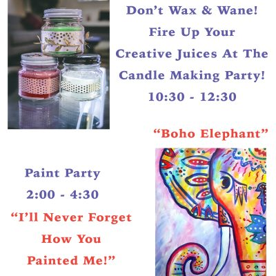 Candle Party & Paint Party